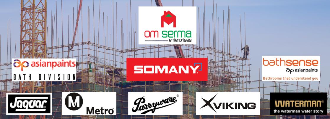 OM Serma banner for Bathroom Taps