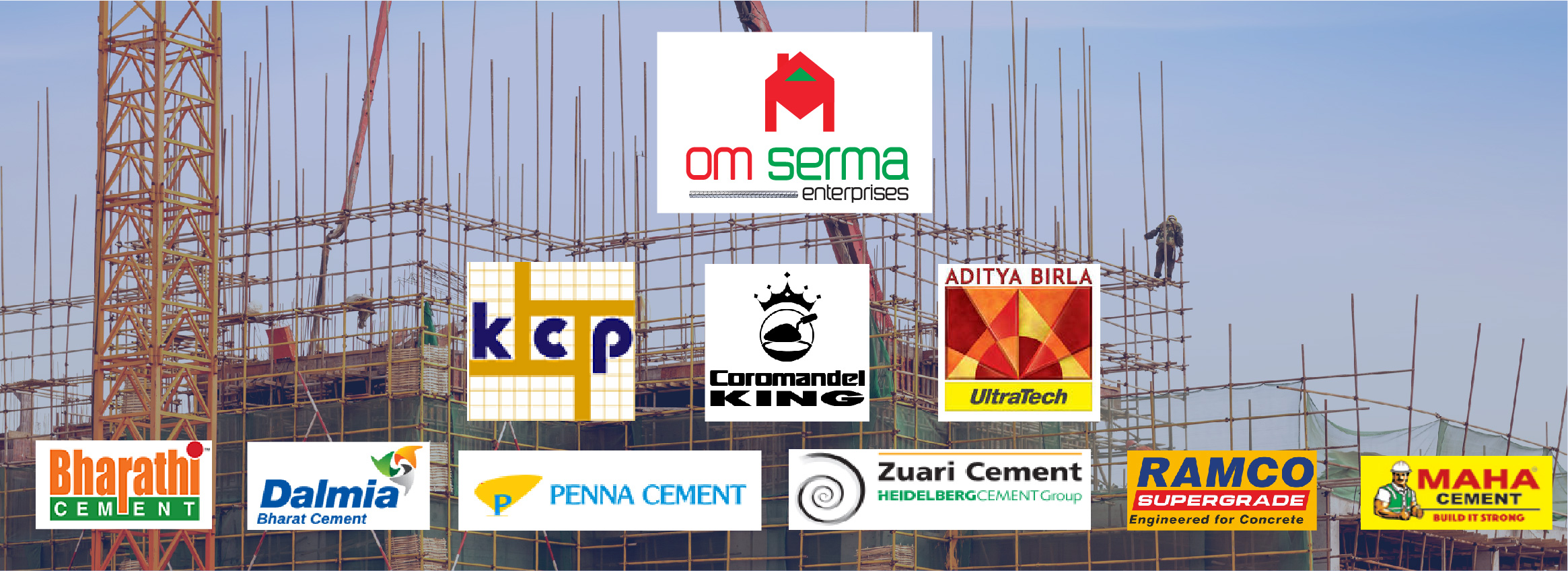Om serma Banner Template (Cement)