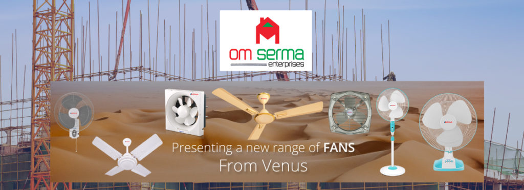 Omserma Banner for celling fans & exhaust fans