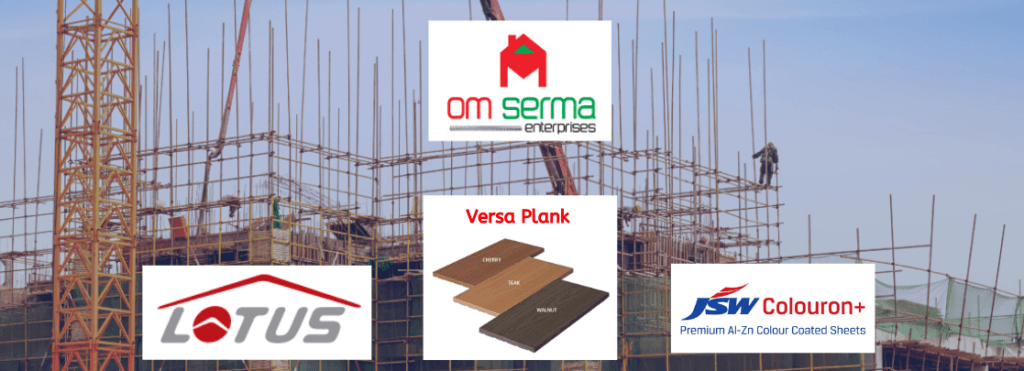 Om serma banner for Roofing Sheet